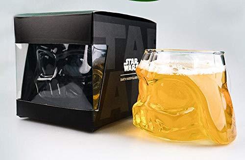 Infinitely Great Home Decor Center 2 Star Wars Pieces Stunning Mug Darth Vader Beer Helmet Black Crystal Cup Knight 3D Design