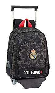 Real Madrid CF- Real Madrid Trolley Infantil, Color Negro (SAFTA 611924020)