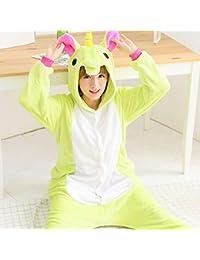 QINCH Home Pyjamas Adultes Unisexe - Peluche Une Pièce Cosplay Costume  Animal Épaississement Hiver Vêtements de 5abf33aec0d