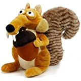 """Ice Age-3 Plush 7.9"""" /20cm Scrat Squirrel Doll Stuffed Animals Figure Soft Anime Collection Toy by Latim"""