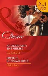 At Odds With The Heiress: At Odds with the Heiress / At Odds with the Heiress / Project: Runaway Bride / Project: Runaway Bride (Las Vegas Nights, Book 1)