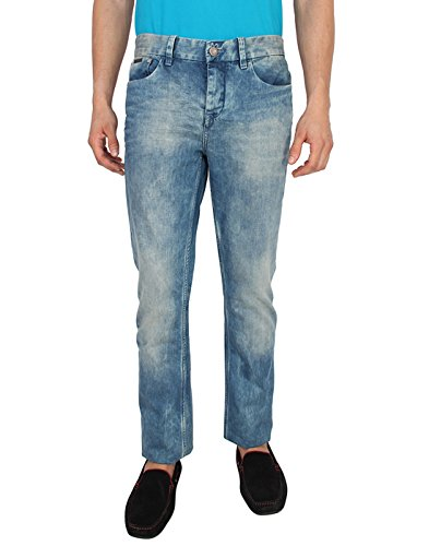 Calvin Klein Men's Straight Fit Jeans (701549672887_J302999_36W x 34L_Blue)  available at amazon for Rs.10199