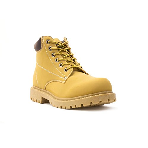 Earth Works - EarthWorks Mens Lace Up Boot in Honey - Size...