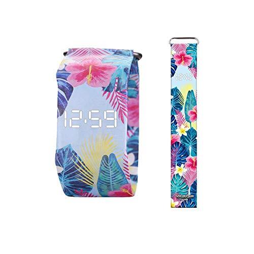 Wasserdicht für Dupont Paper Watch Neue Papieruhr Kreative Mode Männer Und Frauen Intelligente Papier Elektronische Uhr