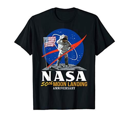NASA Apollo 11 Astronauten Mond Tshirt   50 Jahre Jubiläum -