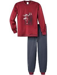 Calida Jungen Zweiteiliger Schlafanzug Pyjama Bündchen Moose