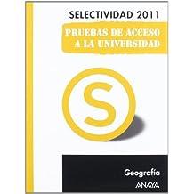 Geografía. Pruebas de Acceso a la Universidad. (Selectividad/PAU 2011)