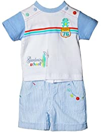 Zip Zap Boys Rabbit/ Frog T-Shirt and Trousers Set