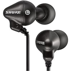 Shure E2C-N In-Ear Headphones - Black