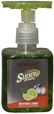 Patanjali Super Dish Wash Gel with Neem and Lemon - 200 ml