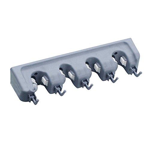 Jinberry Multifunzione Portascope / Portaspazzole Multiuso da Muro con Ganci
