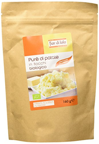 Fior di Loto Purè di Patate in Fiocchi - 6 Pezzi da 160 (Italiano Patate)