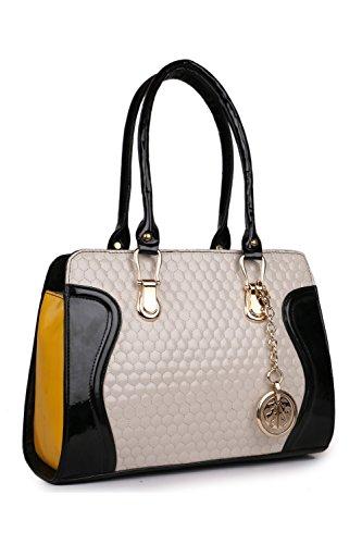 CLASSIC FASHION Women's Handbag (Multicolor, Cfs0153 Bol)
