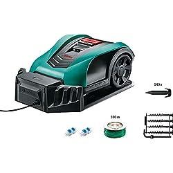 Bosch Mähroboter Indego 350 Connect (mit App Funktion, 19 cm Schnittbreite, Rasenfläche bis zu 350 m²)