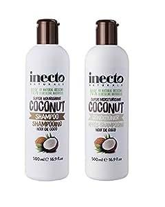 Inecto Pure Coconut Shampoo + Conditioner
