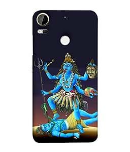 PrintVisa Designer Back Case Cover for HTC Desire 10 Pro (kalka ji dark mother goddess)