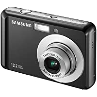 Samsung ES17 Digital Camera - Black (12MP, 3x Optical Zoom), 2.5 inch LCD