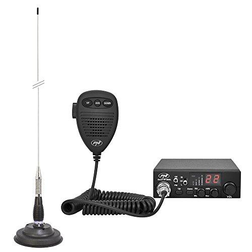 CB funkgerät Kit CB PNI Escort HP 8000L ASQ + CB-Antenne PNI ML100, Zigarettenanzünder-Stecker im Lieferumfang enthalten Cb-kit