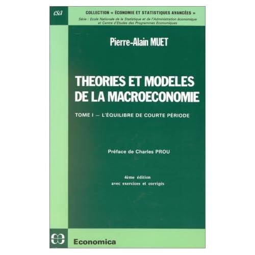 Théories et modèles de la macroéconomietome 1 L'équilibre de courte période