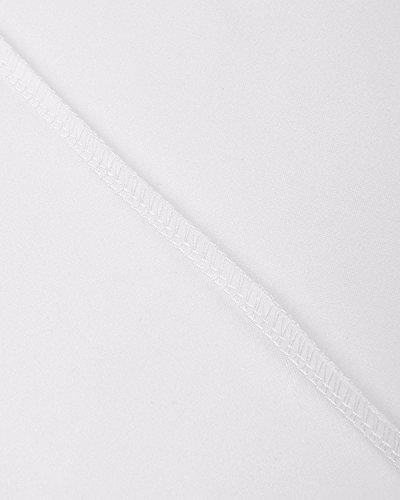 BIUBIU Damen Mode Cocktailkleid Hochzeit Langes Abendkleid Spitze Partykleider Weiß