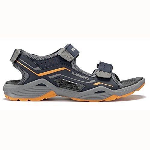 Mens Sandalo 41 42 43 44 45 46 nero Lowa DURALTO TRAIL 410380-9903 Navy/Arancione