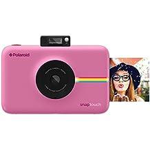 Polaroid Snap Touch Cámara digital con impresión instantánea y pantalla LCD con tecnología Zero Zink (rosada)