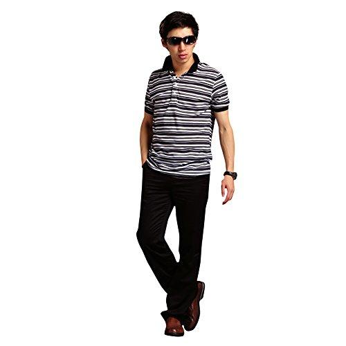 nuova moda estate Sport Mensao assottigli striscia verticale del bicchierino-manicotto