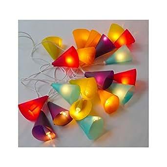 Guirlande Lumineuse Belettes Multicolore 20 ampoules