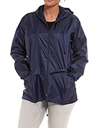 Men//Women Printed Shower proof Windproof Rain Jacket// Kagool Kagoul Cagoule S-XL
