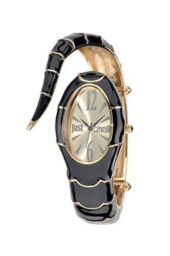 Just Cavalli Damen-Armbanduhr Analog Quarz Edelstahl R7253153508