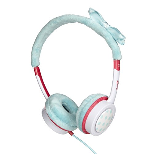 iFrogz IFLRCH-TBN wenig Rockerz Kostüm kabelgebundene Kopfhörer Blaugrün Bogen (Kostüm Für Weniger)