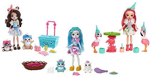 Enchantimals Muñeca y Mascota Surtido/Modelos Aleatorios (Mattel FCC62)