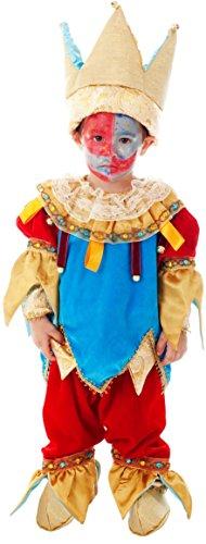 AV50570-0 - Kleinkindkostüm PICCOLO JOLLY - Alter: 0-3 Jahre - Größe: 0 (Alte Joker Kostüme)