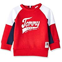 Tommy Hilfiger Boy's 1985 Sweatshirt, Red, 8 Years