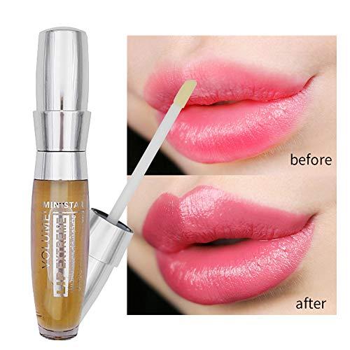 Balight Plumping Lip Gloss Lippenpraller Lipgloss Lip Extreme Lip Plumper Lang Anhaltende Feuchtigkeitsspendende Lip Enhancer Lip Cosmetics -