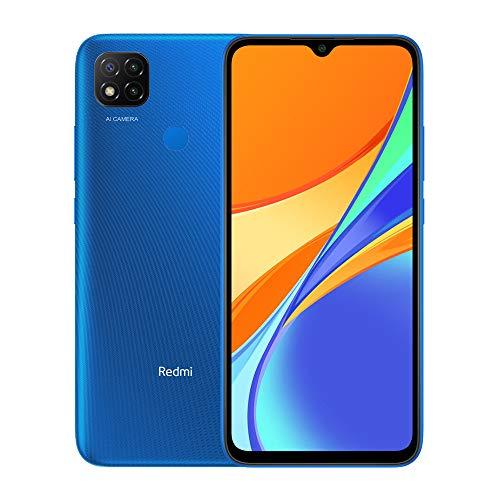 """Oferta de Xiaomi Redmi 9C Teléfono 3GB RAM + 64GB ROM, 6.53"""" Dot Drop Display, Procesador Octa-Core 5MP Frontal y 13MP Cámaras Triples Versión Global (Azul)"""