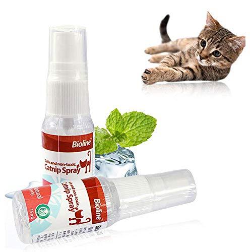 FOONEE Katzenminzen-Spray, sichere Premium-Mischung, perfekt für Katzen, Katzenminze Tee mit maximierter Potenz, Ihr Kitty Wird garantiert verrückt!