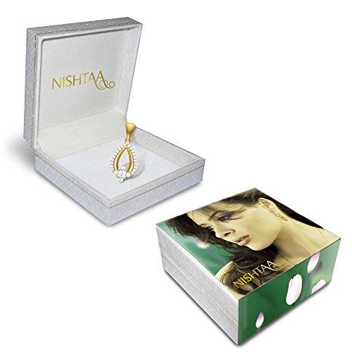 Nishtaa 22K Yellow Gold Pendant