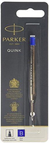 Parker Quink Nachfüllmine (für Kugelschreiber mit breiter Spitze) blau