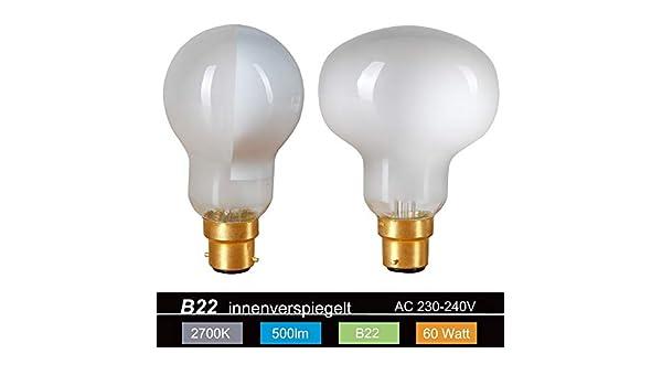 Hammerkopf Glühlampe B22d 100W 240V TESTA MARTELLO Colombo SPIDER Leuchtmittel