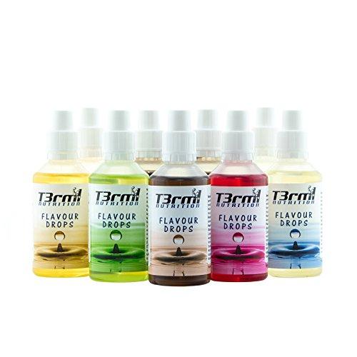 T3rm1 Nutrition - Flavour Drops, 50ml | Aroma Tropfen | Kochen & Backen etc. | Made in Germany (Sweet Marzipan)