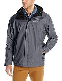Columbia Men Big & Tall Watertight II Packable Rain Jacket,Graphite,3X