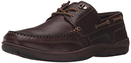 Rockport Uomo cshore Bound 3EYE Boat Shoe Dark Brown