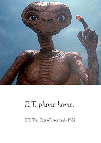 Preisvergleich Produktbild E.T. der Außerirdische–1982–Classic Filme Collecion–Beste Qualität Poster. Tolle Dekoration für Wand. Größe A3