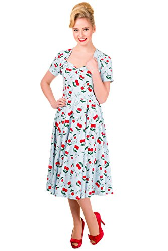 Retro Pin up 1950 Art-Kleid Cherries