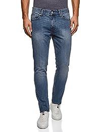 oodji Ultra Uomo Jeans Basic a Vita Media
