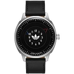 Adidas ADH3126 SAN FRANSICO Uhr Herrenuhr Lederarmband Edelstahl 10 Bar Analog schwarz