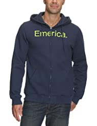 Emerica  Herren Zip Jacke PURE SOLID ZIP FLEECE