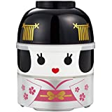 Japanese Bento Lunch BOX Hakoya Kokeshi GROßE VERSION (Prinzessin)