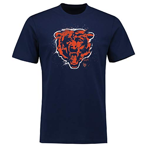 Fanatics Splatter T-Shirt - NFL Chicago Bears Navy - L